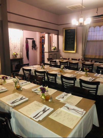Boucherie dining room