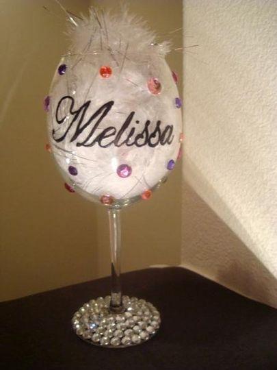Customized & Personalized Wine Glass