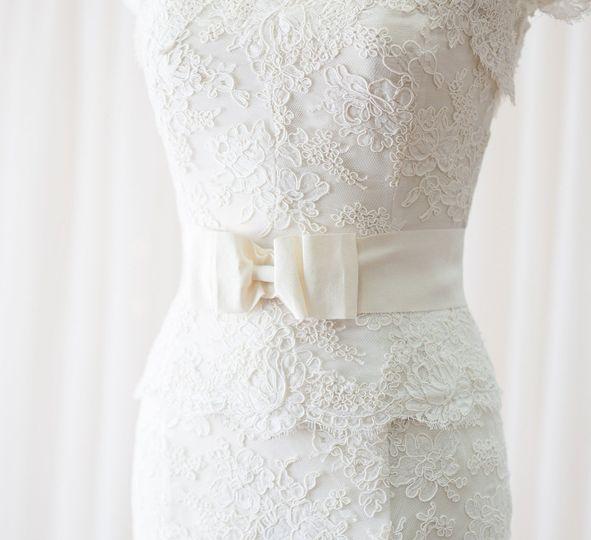 Elegant bridal belt