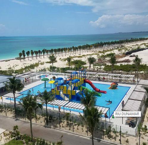 Riu Dunamar (north of Cancun)