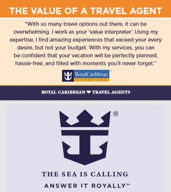 Tmx Value Of A Travel Agent Royal Carib 51 688699 1562901974 Wixom, MI wedding travel
