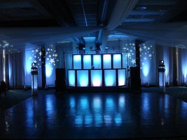 Booth lighting