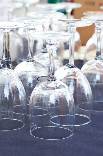 Sparkling goblets