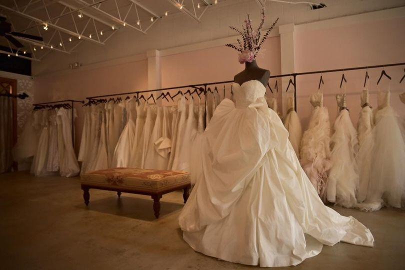London and lace dress attire columbia sc weddingwire for Wedding dresses in columbia sc