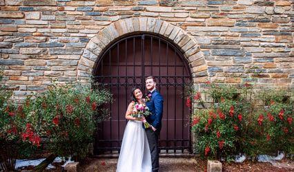 The wedding of Alba and Evan