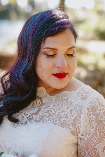 Wedding makeup artists and hai