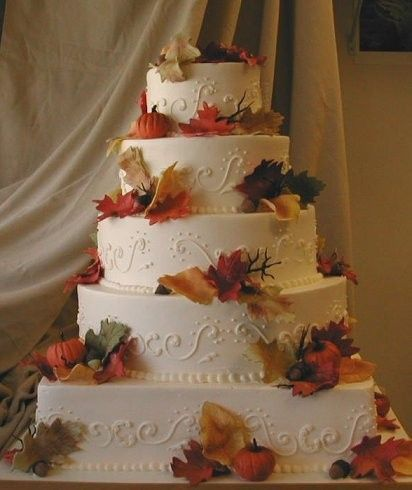 Tmx 1416673806371 Fall Wedding Cake2 Syracuse wedding planner