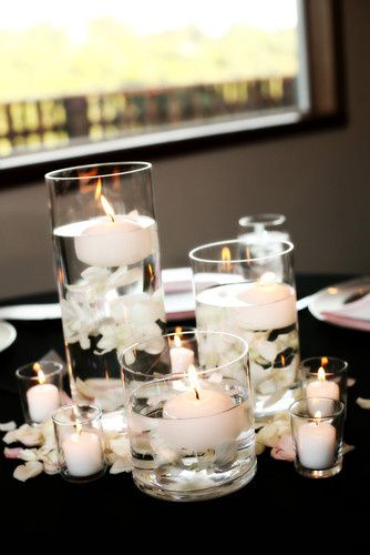 Tmx 1416673945372 Blackwhiteweddingcenterpiececandles Syracuse wedding planner