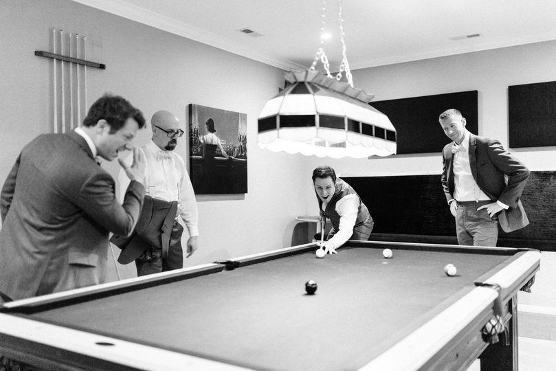Billiards at The Club