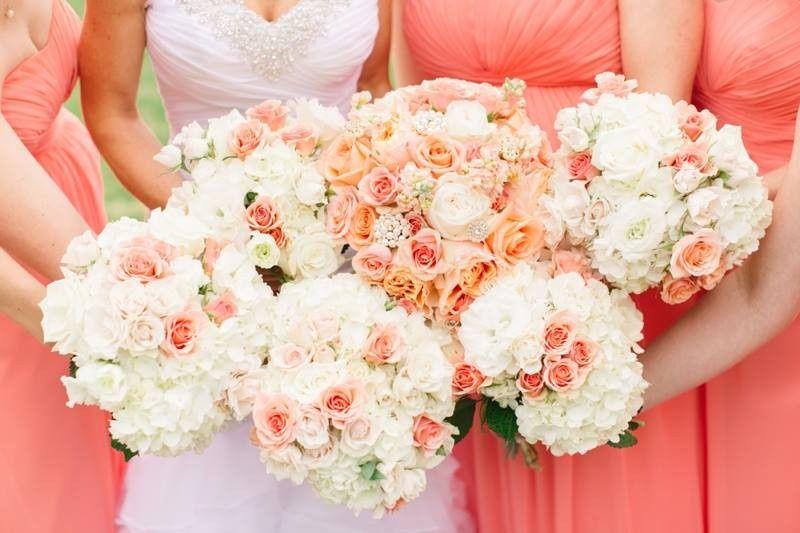 Different bouquets