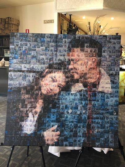 Couple First Choice Mosaic Wal