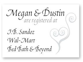 Tmx 1331330574530 MDWedingInserts Mandeville wedding invitation