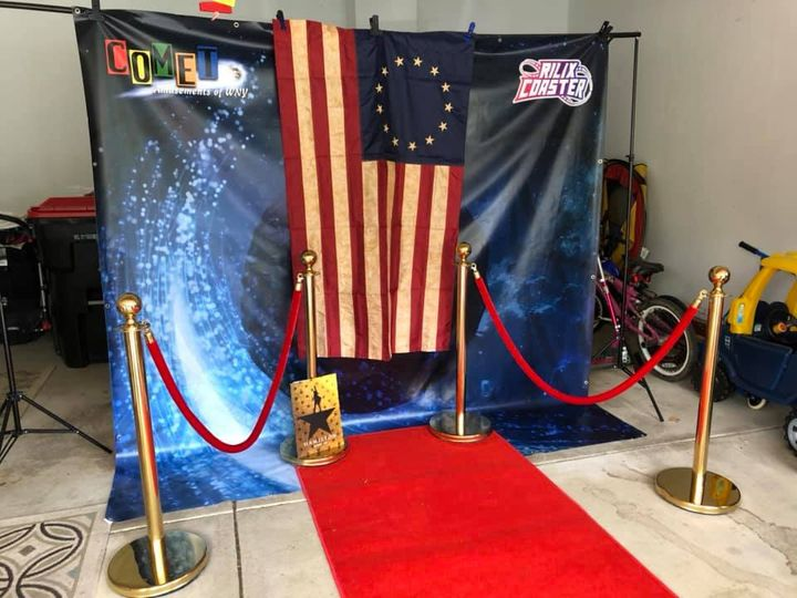 Funky backdrops available