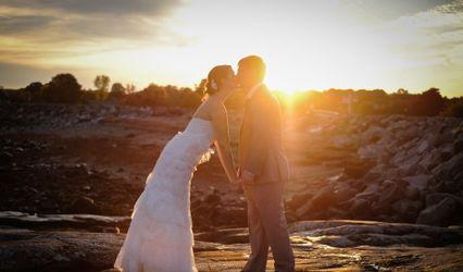 The wedding of Melanie and Tim
