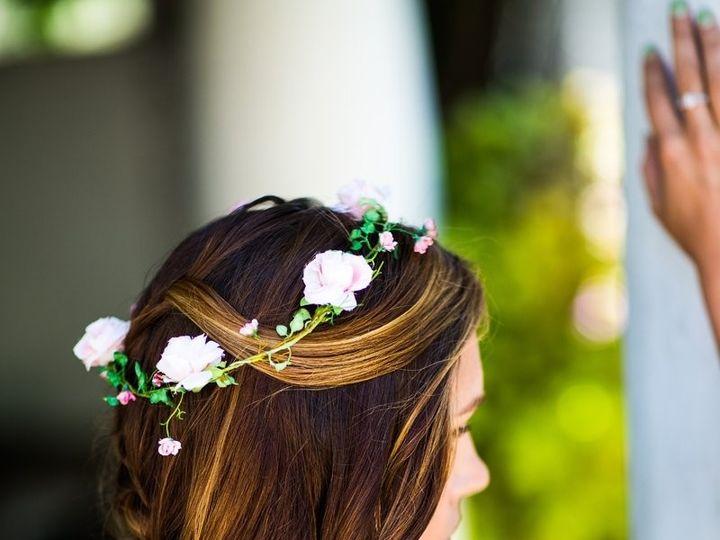 Tmx 1384976177625 Diagonal Braid Wedding Hair By Melea San Diego, California wedding beauty