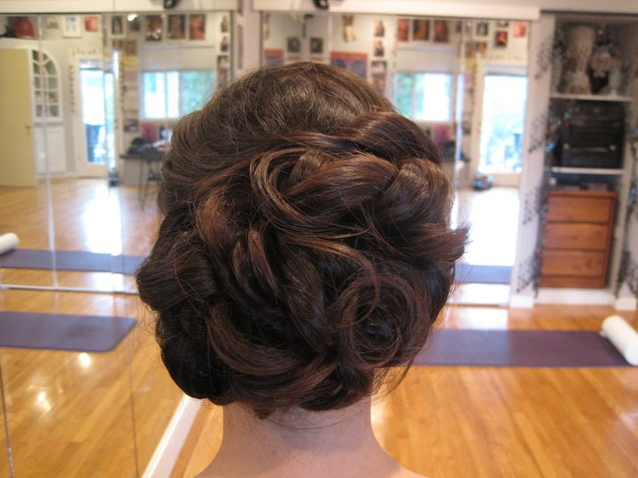 Tmx 1416525473090 Wedding Updo Loose Curls By Meleah San Diego, California wedding beauty