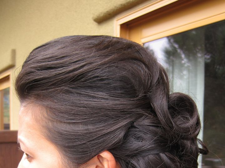 Tmx 1416525583166 Wedding Updo With Bouffant And Romantic Curls By M San Diego, California wedding beauty