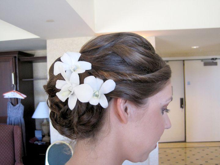 Tmx 1416525603079 Wedding Updo With Twists By Meleah San Diego, California wedding beauty