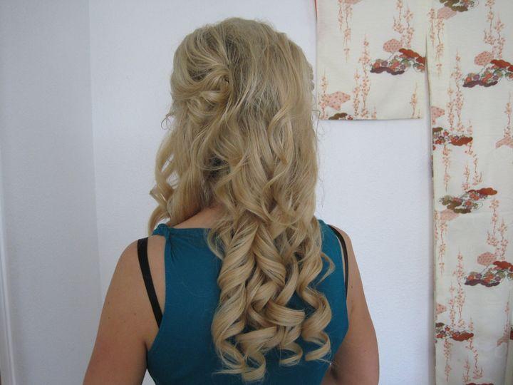 Tmx 1416525777491 Long Curls Wedding By Meleah 1 San Diego, California wedding beauty