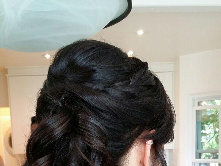 Tmx High Pony Updo Wedding Hair For Long Hair By Meleah 51 195799 San Diego, California wedding beauty