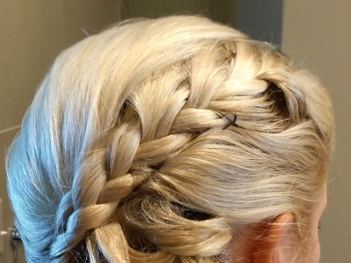 Tmx Side Sweep With Braid Makeup Hair And Dance By Meleah 51 195799 San Diego, California wedding beauty
