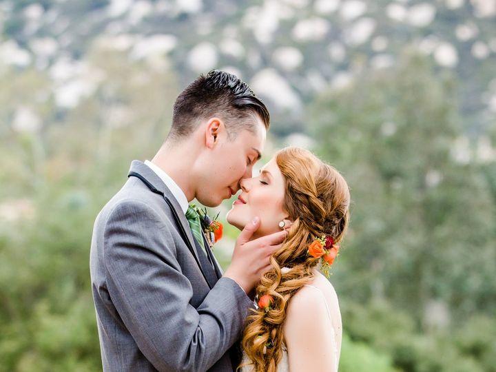 Tmx Wedding Hair And Makeup By Meleah Long Elegant Braid 2 51 195799 San Diego, California wedding beauty