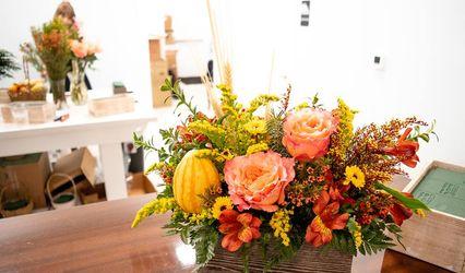 Hydrangea Flowers & Coffee 1