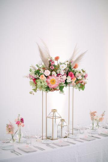 Petals & Roots arrangement