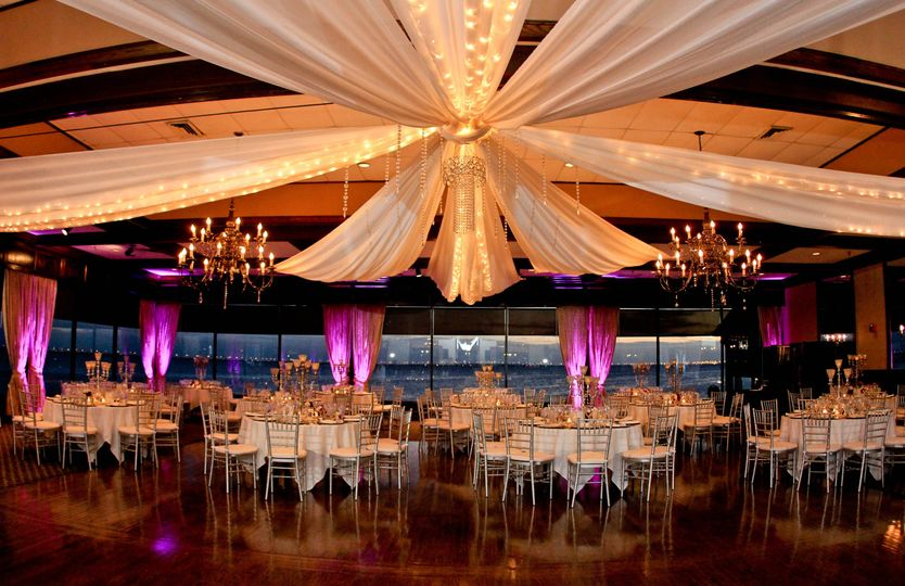 Grand Ballroom up lighting