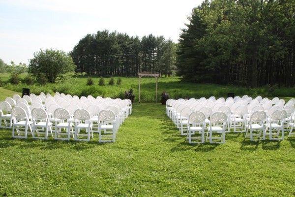 Tmx 1430966364109 Outdoor Wedding Cermony At Badger Farms Deerfield wedding venue