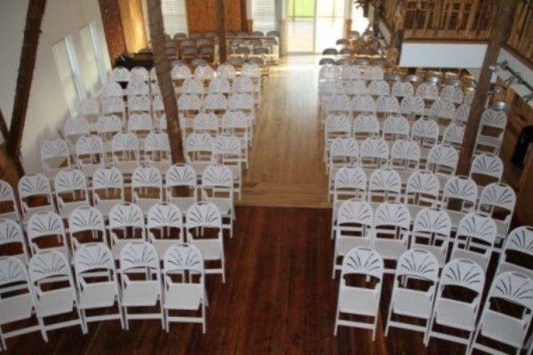 Tmx 1467140602386 Barn Curved Chairs 1547e6b480 Deerfield wedding venue