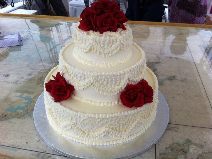 cake with roses1