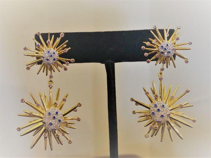 Tmx Exploding Grape Earings 51 1037799 Boerne, TX wedding favor