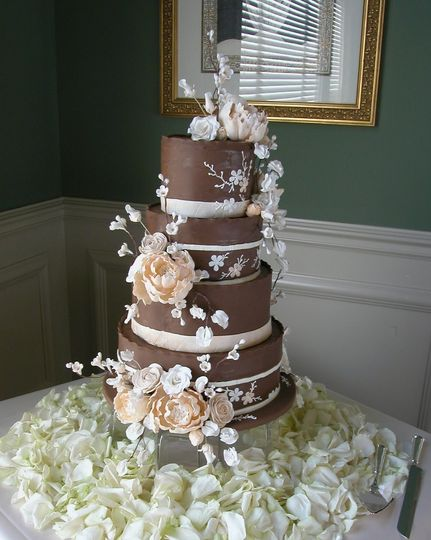 IncrEdible Endings Wedding Cake Florence KY WeddingWire