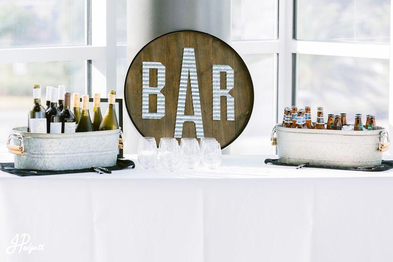 Bar Sign at Cade Museum