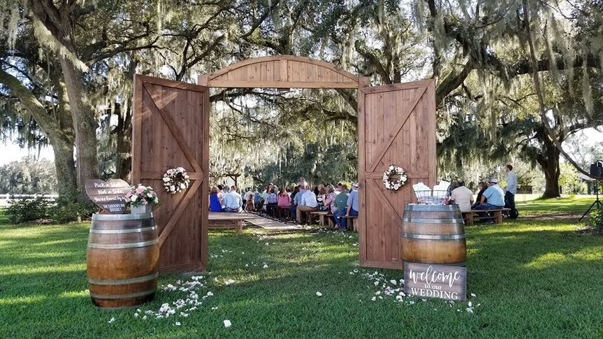 Doorway to the ceremony