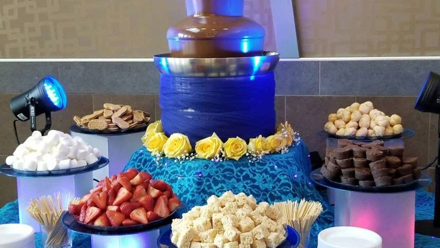 Chocolate Fountain at AMC