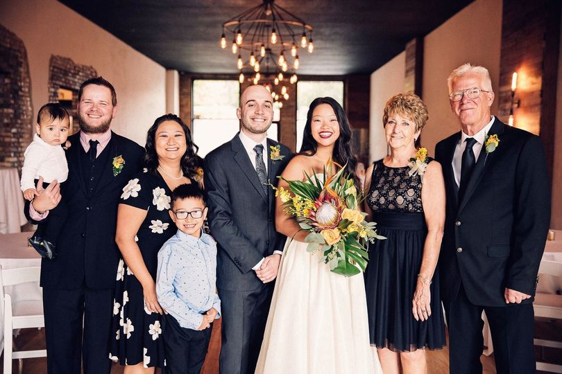 The Jerome's first wedding