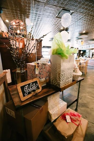 Gifts area