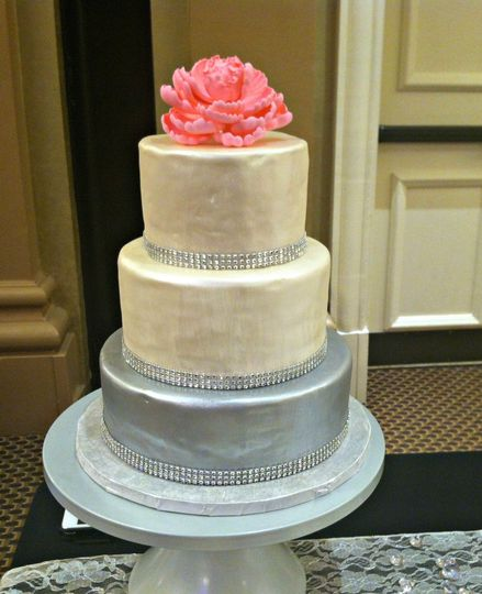 pearl and sliver cake