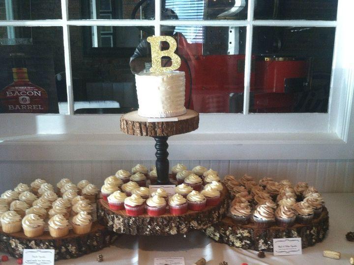 Tmx 1445837377323 Connie Cakes Cupcake Bar Nashville Tn Red Velvet C Nashville, TN wedding cake
