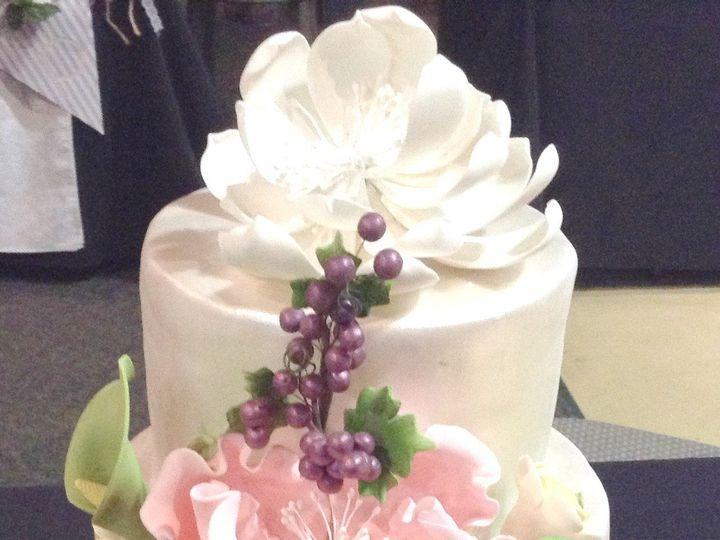 Tmx 1489959143023 Sequin Gold Cake Nashville, TN wedding cake