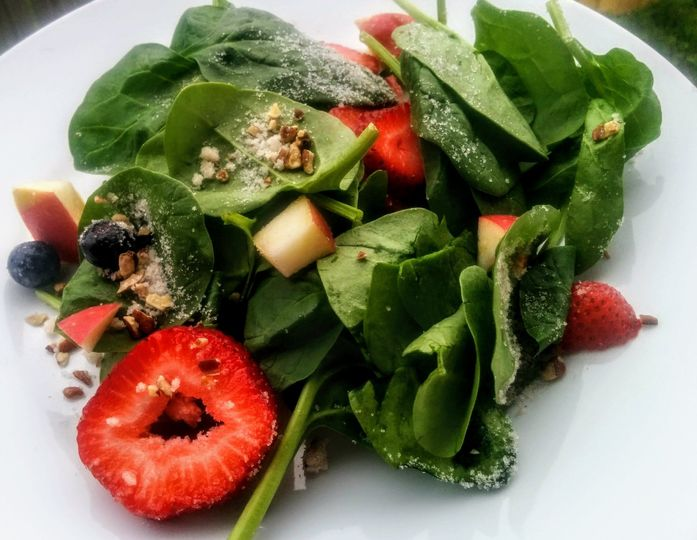 For a lighter fare, select our delicious Summer Berry Spinach Salad