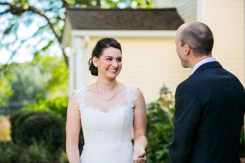 First look   Emily Chastain Photography