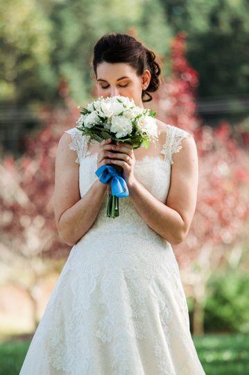 Bridal portrait   Emily Chastain Photography