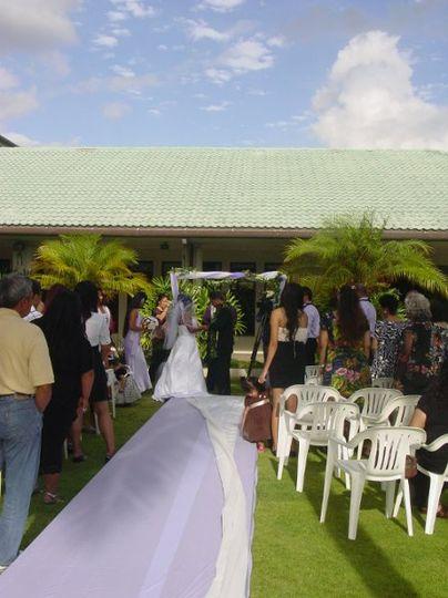 Leilani and Teo wedding at Ewa golf club last October,2009