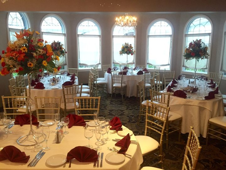 Tmx 1513276429001 Overview Of Outcove With Tall Centerpieces Andover, NJ wedding venue
