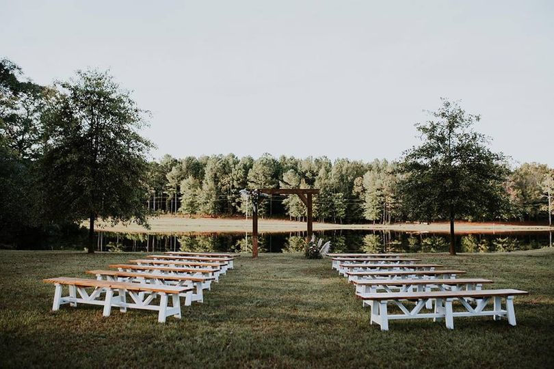 One of the ceremony sites