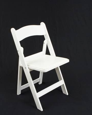 resin padded chairs