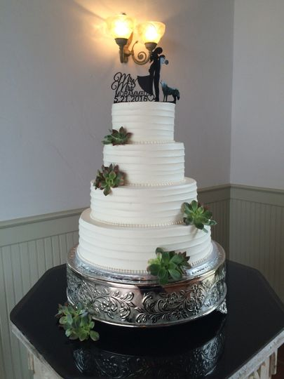 wedding cake fairfield cakes by at receptions wedding cake fairfield 22581